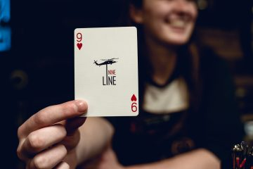 Nine Line 9 of Hearts - Frontline Leader Bicycle Cards