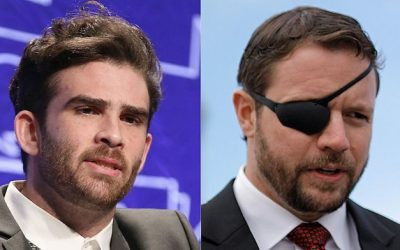 Hassan Piker and Dan Crenshaw