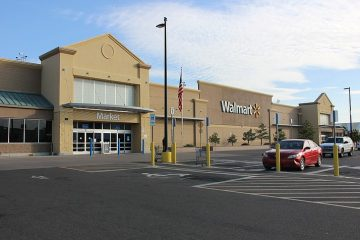 Walmart store in the United States