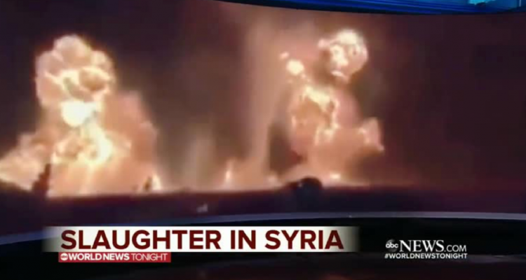 ABC caught in massive hoax as Syria battle footage actually from Kentucky gun range