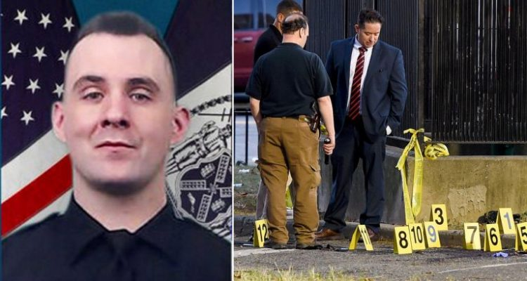 Heartbreaking video shows how slain NYPD officer Brian Mulkeen spent his final hour