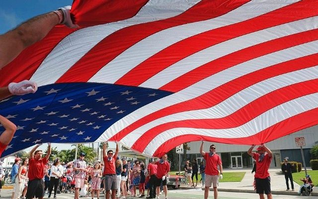 Surprise - College poll reveals exactly who is proud to be an American