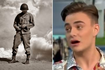 22-yr-old Instagram star thinks schoolkids should learn less about WWII because it's so intense.