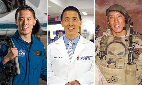 Jonny Kim needs his own action figure brand Navy SEAL, doctor and now ASTRONAUT