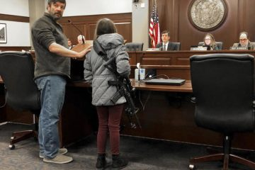 11-year-old girl brings AR-15 to Idaho statehouse